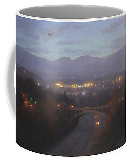 Above The Rose Bowl Coffee Mug