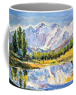Above The Sea Level Coffee Mug