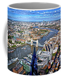 Above The Shadow Of The Shard Coffee Mug