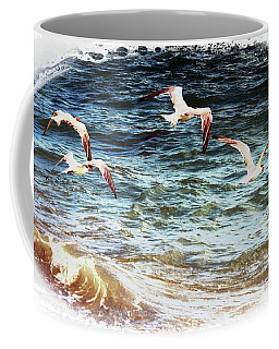 Above The Waves Coffee Mug