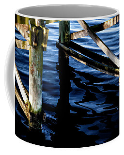Coffee Mug featuring the photograph Above Water by Eric Christopher Jackson