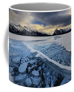 Abraham Lake Ice Bubbles Coffee Mug