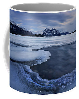 Abraham Lake Sans Bubbles Coffee Mug