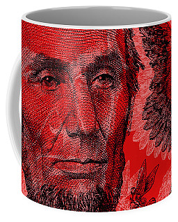 Abraham Lincoln Pop Art Coffee Mug