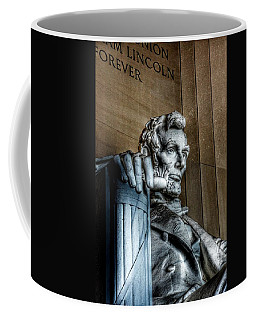 Abraham Lincoln Statue - The Lincoln Memorial Washington D. C.  Coffee Mug