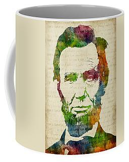 Abraham Lincoln Watercolor Coffee Mug