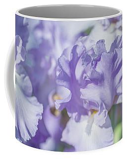 Absolute Treasure Closeup. The Beauty Of Irises Coffee Mug