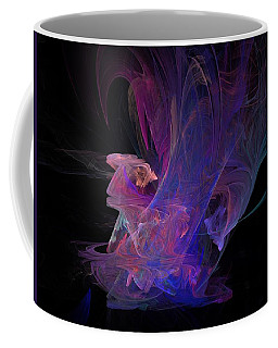 Abstact Pink Swan Coffee Mug