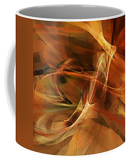 Abstract 060812a Coffee Mug by David Lane