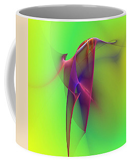 Coffee Mug featuring the photograph Abstract 091610 by David Lane