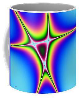 Coffee Mug featuring the digital art Abstract 122016 by Maciek Froncisz