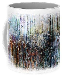 2f Abstract Expressionism Digital Painting Coffee Mug