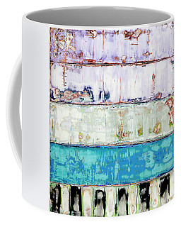 Coffee Mug featuring the painting Art Print Abstract 31 by Harry Gruenert