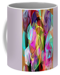 Coffee Mug featuring the digital art Abstract 3366 by Rafael Salazar