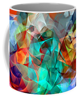 Coffee Mug featuring the digital art Abstract 3540 by Rafael Salazar