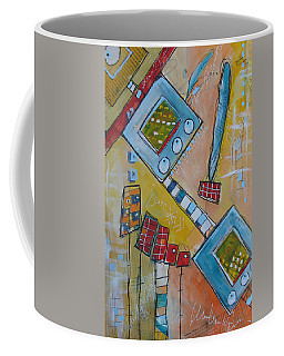 Abstract 74 Coffee Mug