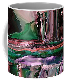 abstract A Time And A Different Place  Coffee Mug