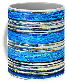 Coffee Mug featuring the painting Abstract A51517b by Mas Art Studio