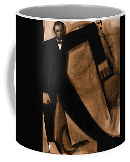 Tommervik Abstract Abraham Lincoln Art Print Coffee Mug