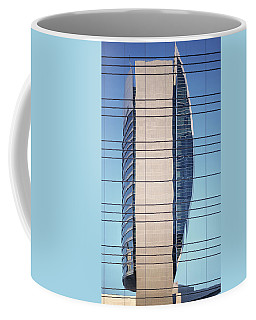 Abstract Architecture - National Bank Of Dubai Coffee Mug