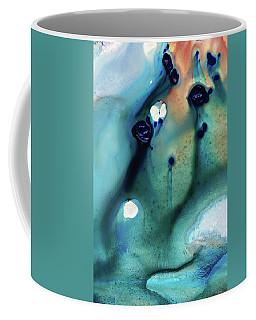 Abstract Art - Hands To Heaven - Sharon Cummings Coffee Mug