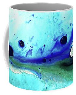 Abstract Art - Making Waves - Sharon Cummings Coffee Mug