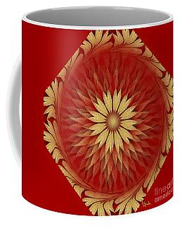 Abstract Art - Sunflower4 By Rgiada Coffee Mug