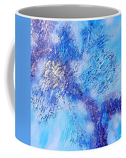 Abstract Art - The Colors Of Winter Coffee Mug