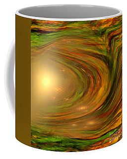 Abstract Art -the Core By Rgiada Coffee Mug