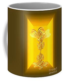 Abstract Art - The Gratitude Plant By Rgiada Coffee Mug