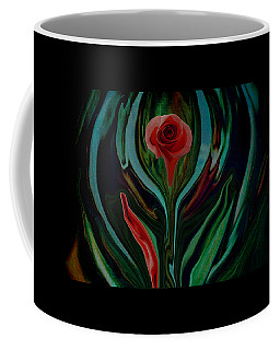 abstract Art The Rose A Symbol Of Love  Coffee Mug
