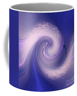 Abstract Art - The Wave By Rgiada Coffee Mug