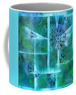 Abstract Art - Time Fragments Coffee Mug