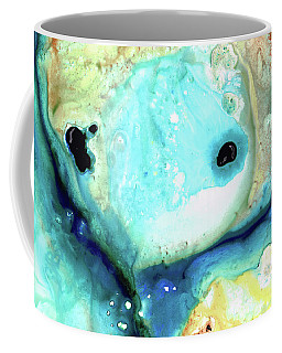 Abstract Art - Holding On - Sharon Cummings Coffee Mug