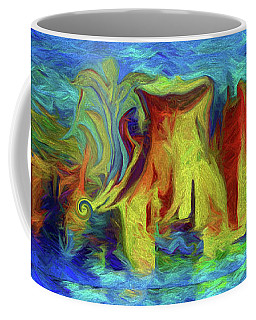 Abstract Artgo With The Flow Coffee Mug
