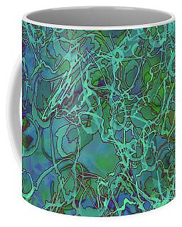Abstract Azurite Coffee Mug