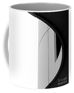 B / W   Abstract  Coffee Mug