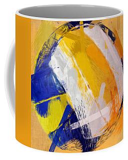 Abstract Beach Volleyball Coffee Mug