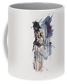 Abstract Bellydancer Coffee Mug