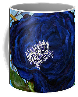 Abstract Blue Coffee Mug
