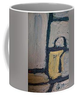 Abstract Blue Shapes Coffee Mug