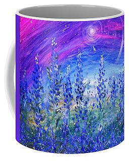 Abstract Bluebonnets Coffee Mug