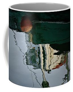 Abstract Boat Reflection II Coffee Mug