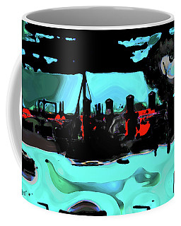 Abstract Bridge Of Lions Coffee Mug