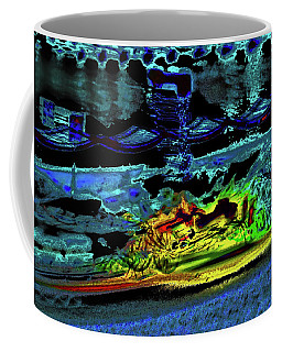 Abstract Carriage Ride Coffee Mug
