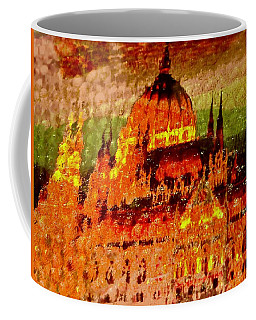 Abstract Cathedral Coffee Mug by Stephanie Moore