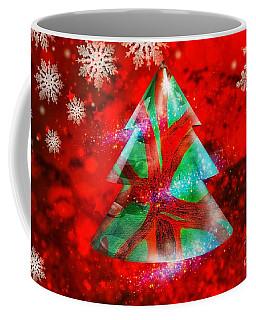 Abstract Christmas Bright Coffee Mug