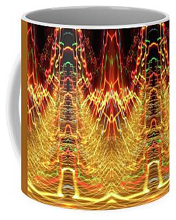 Abstract Christmas Lights #175 Coffee Mug