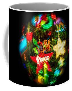 World Of Peace Christmas Tree Coffee Mug