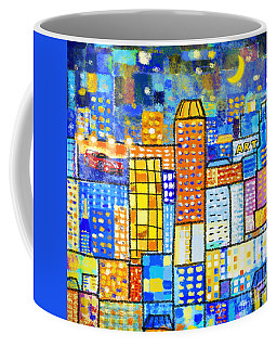 Abstract City Coffee Mug